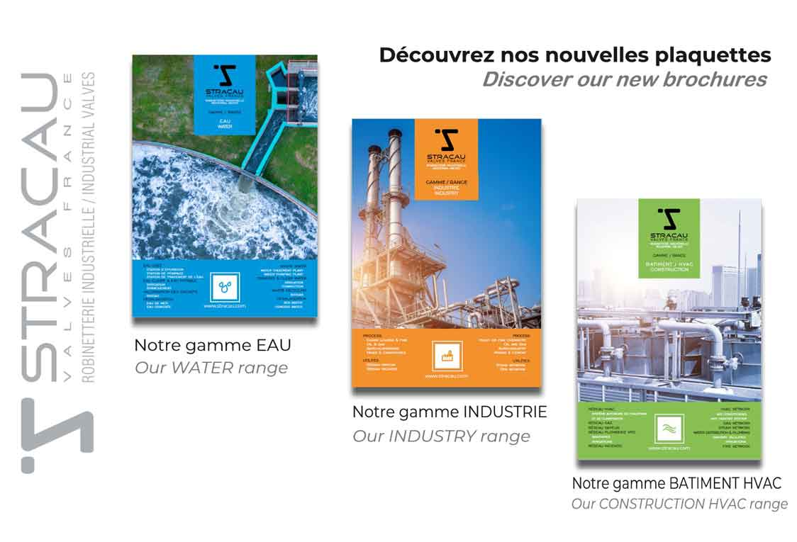 STRACAU presents you our new brochures