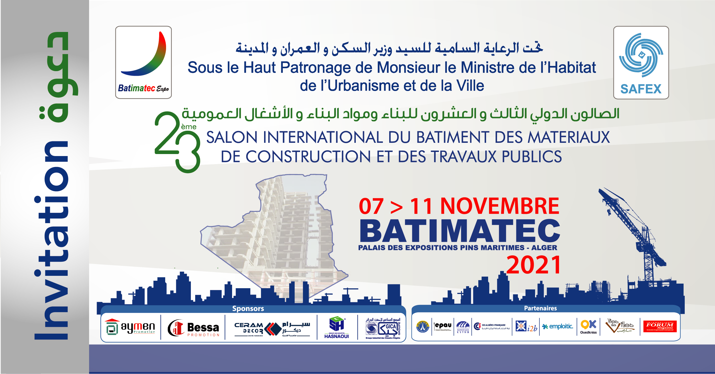 Come and see us at BATIMATEC exhibition !